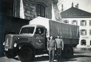 Schweiger Transport - Geschichte-1951 - Erster Neuer Transporter