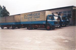 Schweiger Transport - Geschichte-1992 - Einzug in die neue Halle
