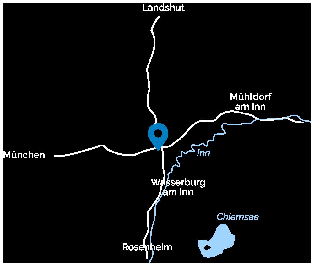 Schweiger-Transport-Anfahrtskarte