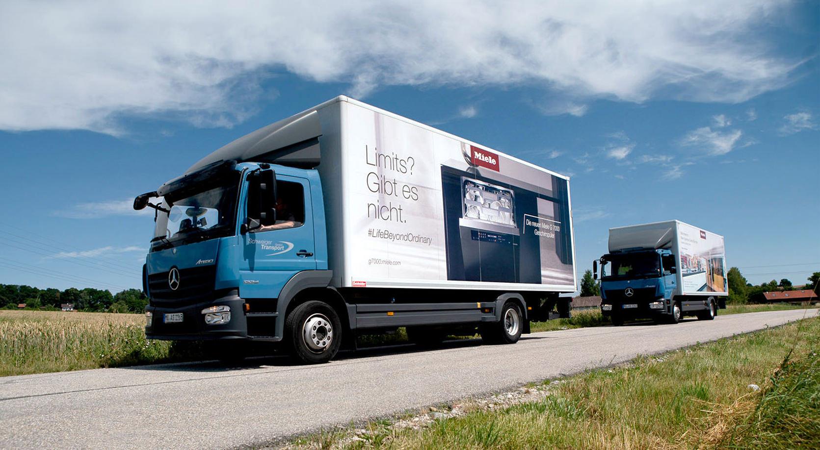 Schweiger Transport GmbH - Speditions- und Logistikunternehmen - Transport