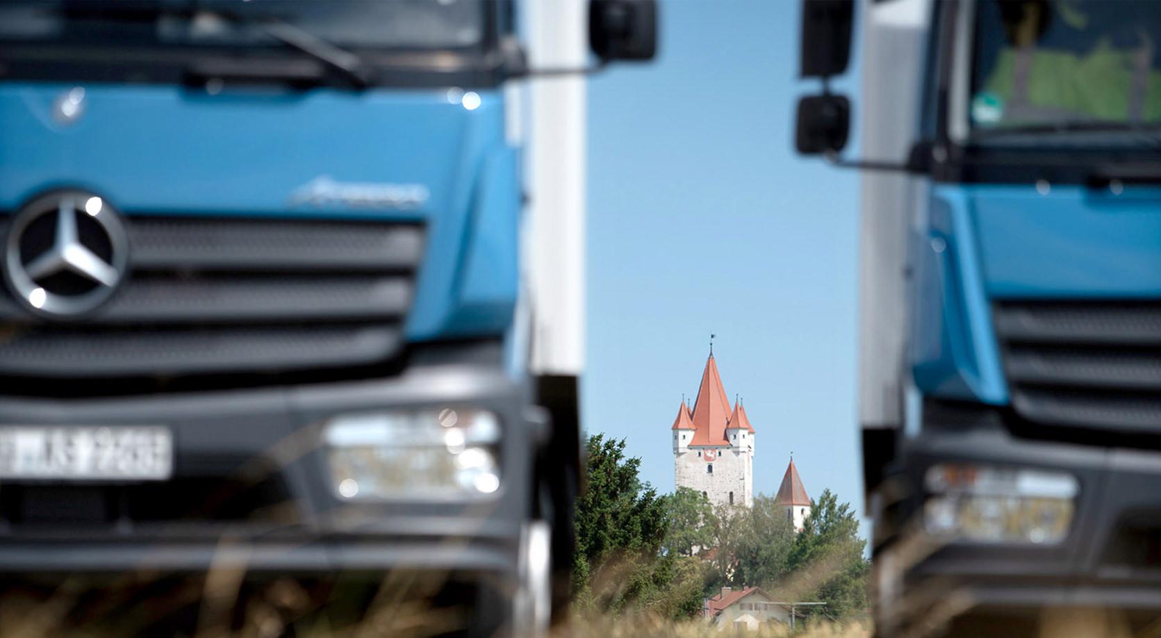Schweiger Transport GmbH - Speditions- und Logistikunternehmen - Vor Ort
